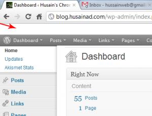 White Gap above WordPress Admin Bar