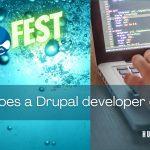 What does a Drupal developer do?